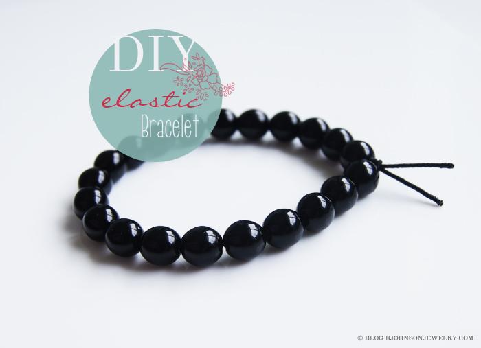 Bracelet on elastic