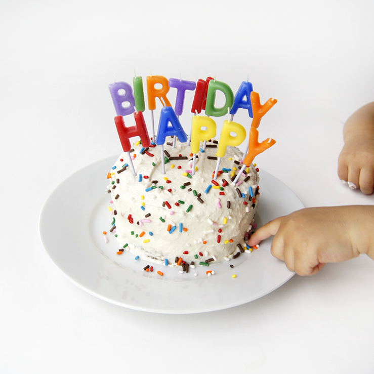 Recipe // Healthy Baby's First Cake