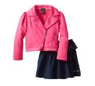 Calvin Klein Girls Jacket & Denim Skirt