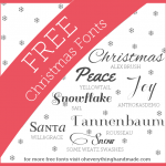 HolidayFonts