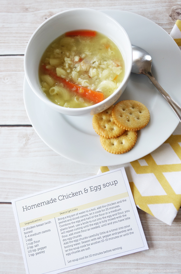 Printable recipe card incl healthy soup recipe forumfinder Images