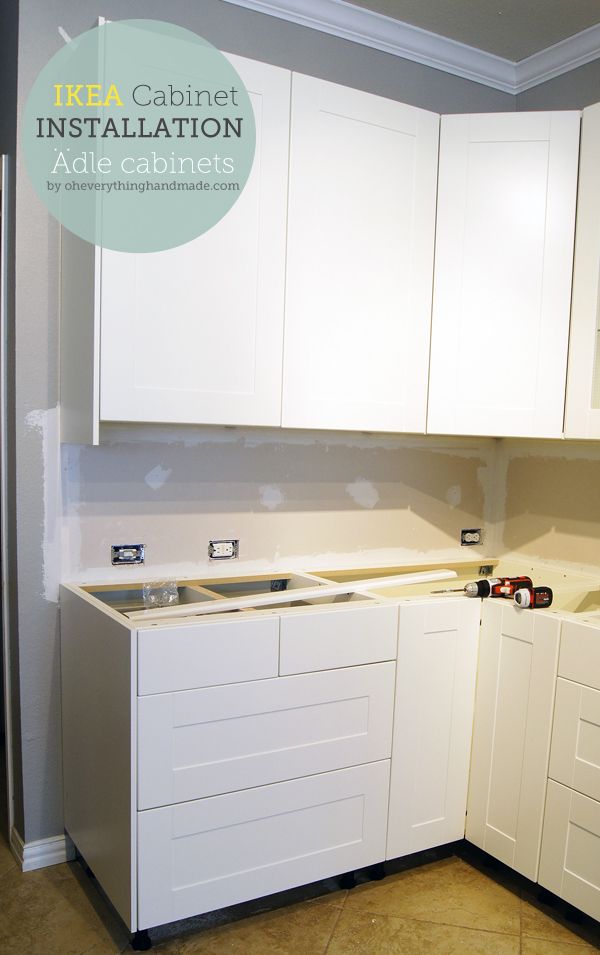 Kitchen Ikea Kitchen Cabinet Installation Oh Everything Handmade