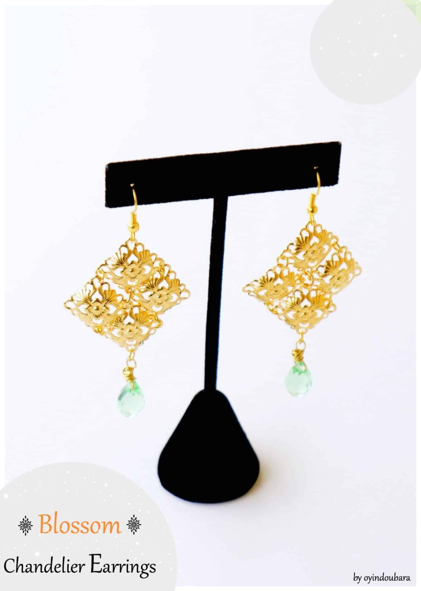 Jewelry diy blossom chandelier earrings jewelry diy blossom chandelier earrings aloadofball Choice Image