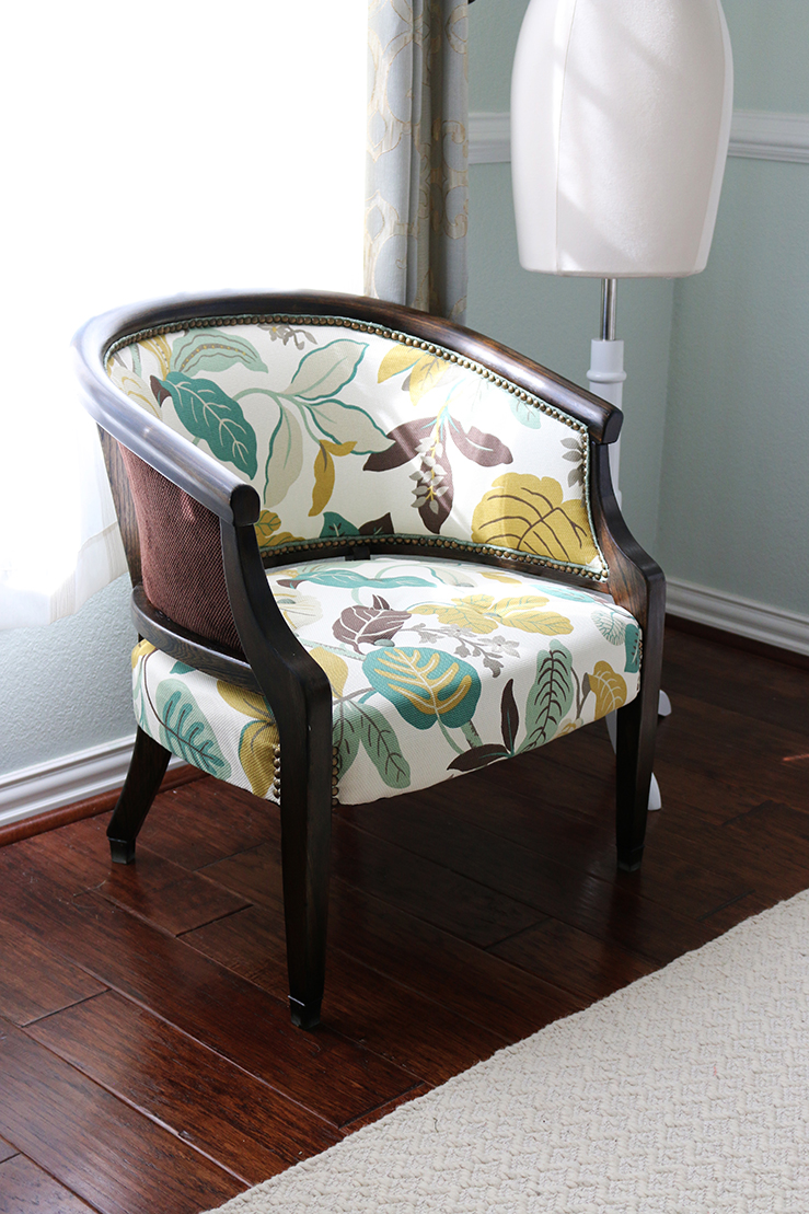 DIY // How to Transform an Upholstered Chair