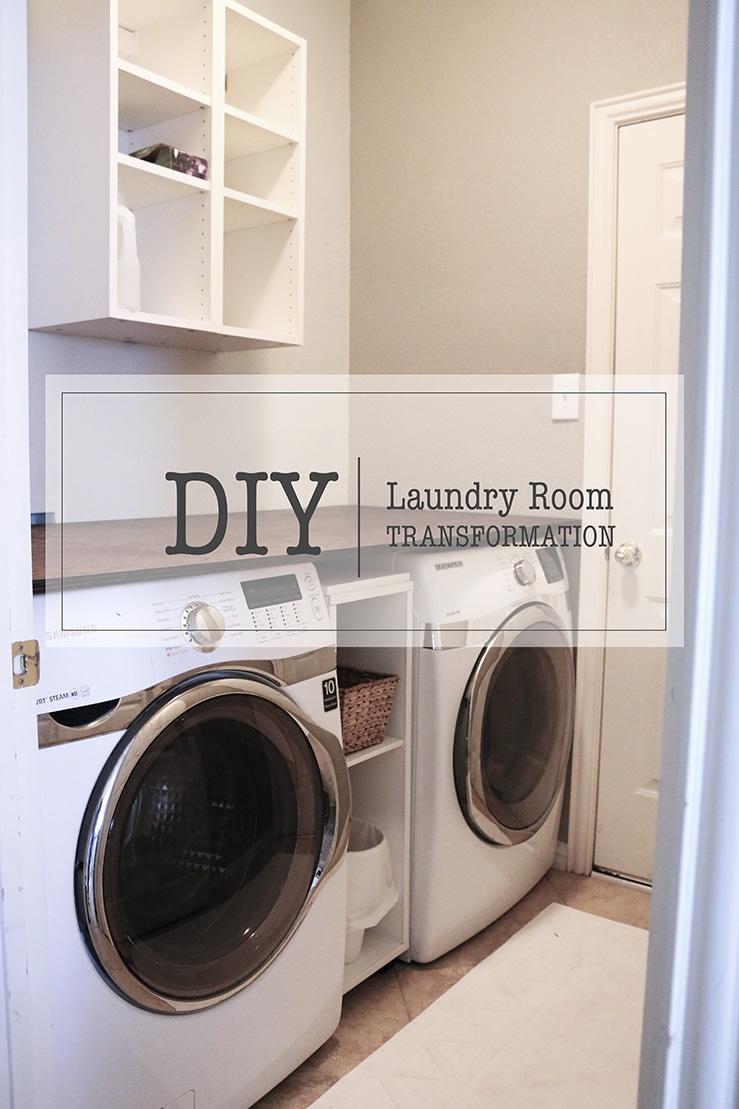 Diy Laundry Room Transformation Oh Everything Handmade