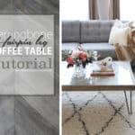 Herringbone Coffee Table by Oheverythinghandmade700