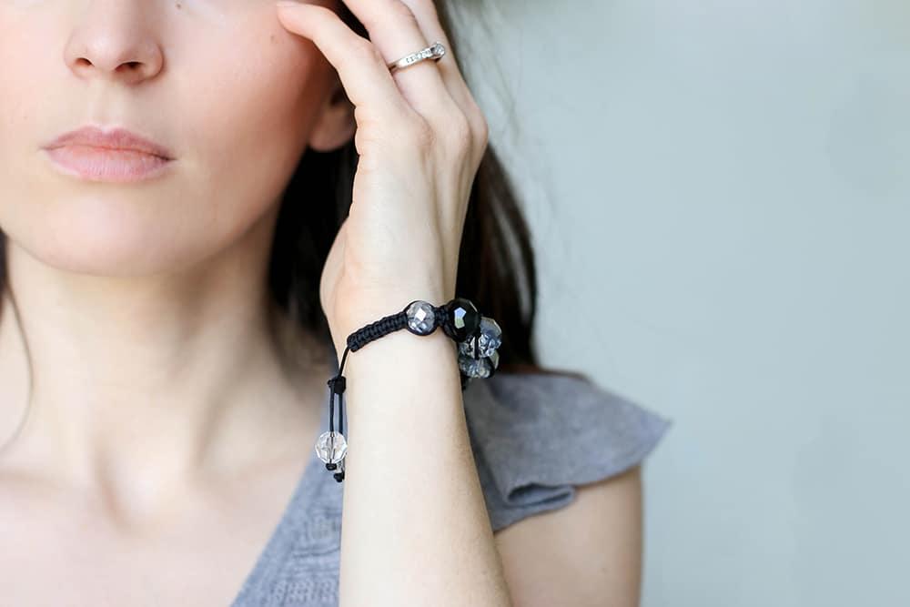 Shamballa Bracelet tutorial » Oh Everything Handmade