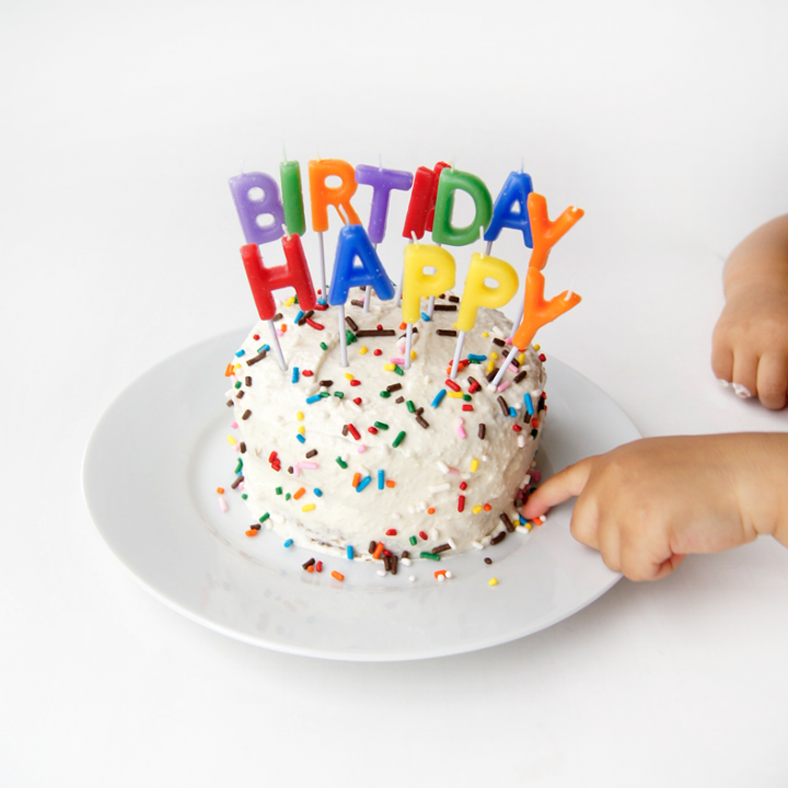 Swell How To Make The Best Healthy Smash Cake For Babys First Birthday Personalised Birthday Cards Veneteletsinfo