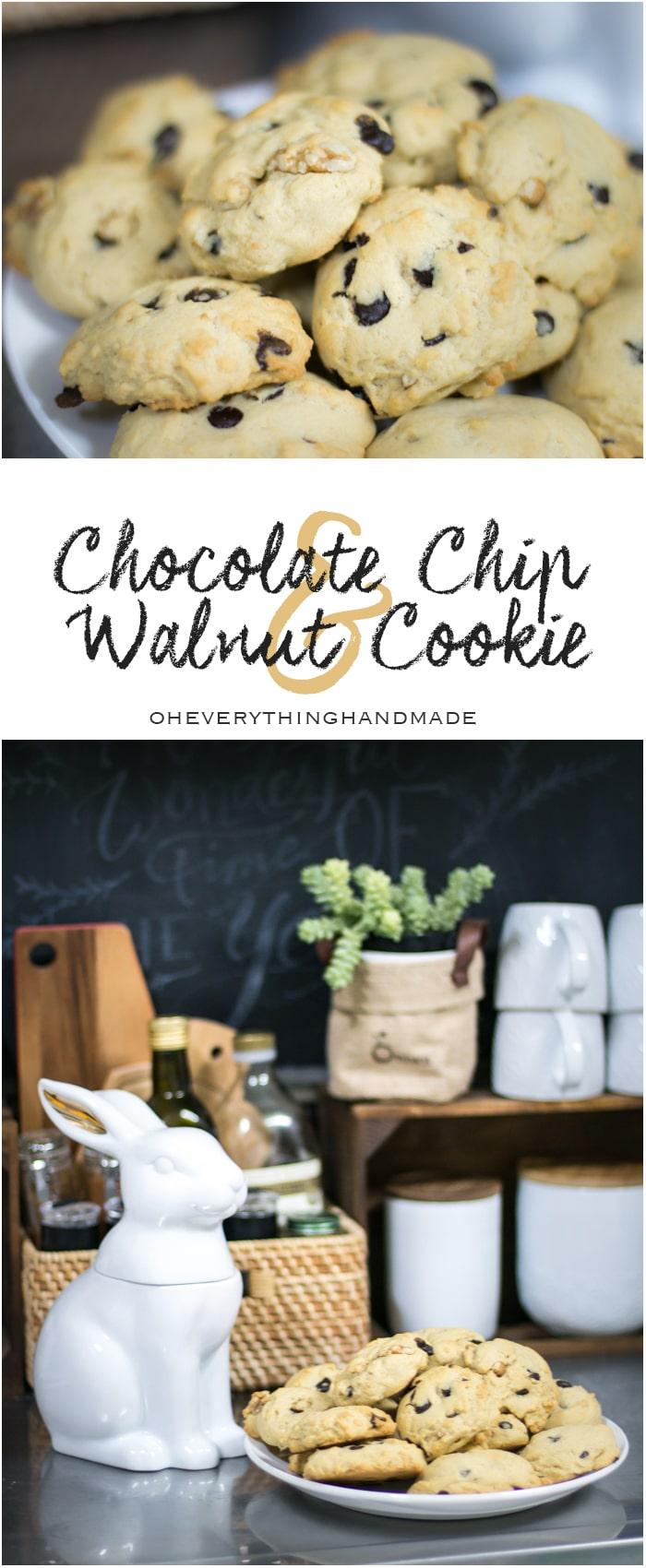 Chocolate Chip & Walnut Cookie - Pinterest