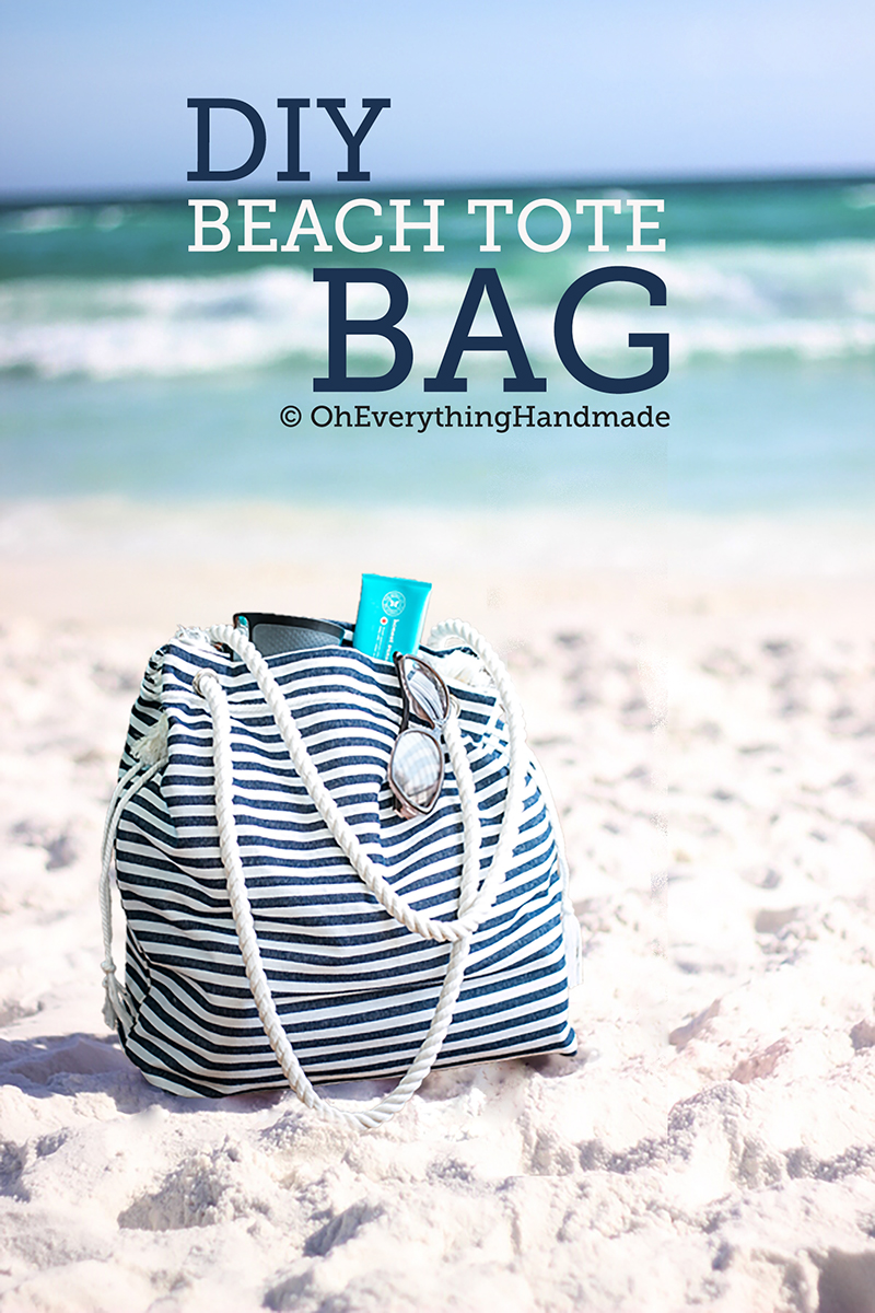 Beach Tote bag by OhEverythingHandmade -Featured image2