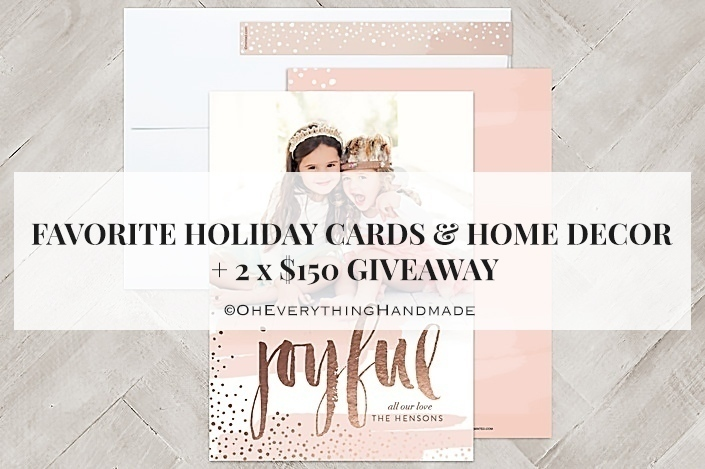 Holidays Cards via Minted-Feature