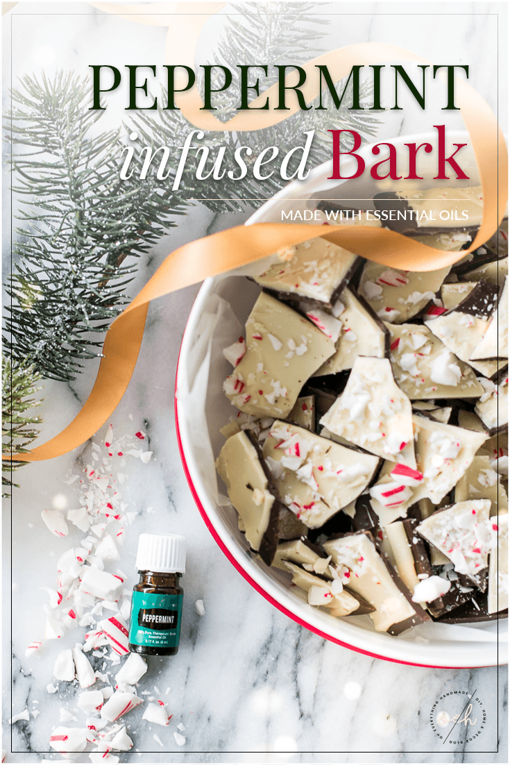 Peppermint {infused} Bark