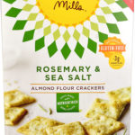 Simple Mills Almond Flour Crackers Gluten Free Rosemary & Sea Salt